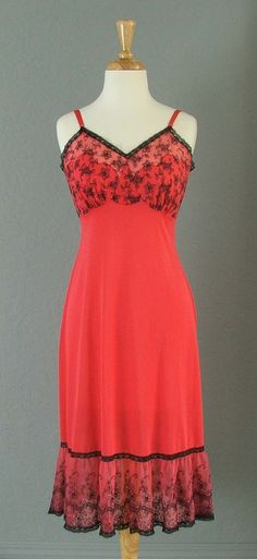 1950s Glamorous Rare Vintage Négligée/Slip/Dress by TangerineJive