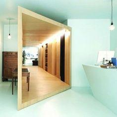 """#inception também na arquitetura: """"Um cômodo dentro de um cômodo"""" nesta loja de cosméticos em Paris. Projeto: FREAKS Architects. #camilakleinarquiteta #architecture #arquitetura #compartilhandoexperiencias"""