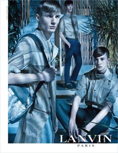 Lanvin Men's Spring Summer 2013 Campaign by Steven Meisel