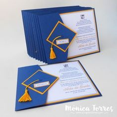 Scrapandome Con Los Recuerdos: Der Abschluss - New Sites Graduation Crafts, Kindergarten Graduation, Graduation Decorations, College Graduation, Graduation Invitation Cards, Diy Birthday, Blog, Beautiful Pictures, Cherik