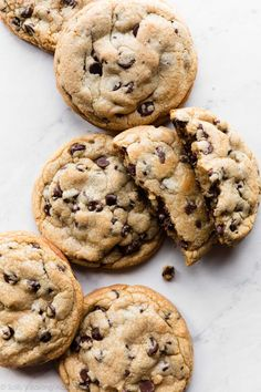 Chocolate Chip Cookie Recipe Without Baking Soda.Perfect Chocolate Chip Cookies Easy No Mixer Chocolate . Flat And Chewy Chocolate Chip Cookies Recipe NYT Cooking. Chocolate Chip Less Cookies Completely Delicious. Fun Baking Recipes, Easy Cookie Recipes, Dessert Recipes, Pastry Recipes, Homemade Chocolate, Giant Chocolate, Delicious Chocolate, Bon Dessert, Chewy Chocolate Chip Cookies