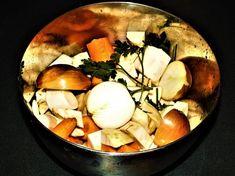 Mražená příprava na zeleninový vývar