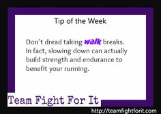 Don't dread taking walk breaks. In fact, slowing down can actually build strength and endurance to benefit your running.