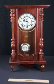 Large Round Wall Clock By Westminister Court Clock Co