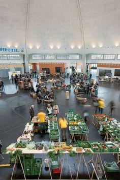 Neue alte Markthalle in Basel