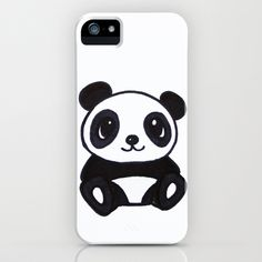PANDA iPhone Case by Kian Krashesky - $35.00