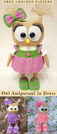 The Best Amigurumi Owls Collection Free Patterns | Best 10 Diy