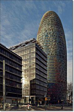 Torre Agbar #Barcelona #welovebarcelona #TorreAgbar