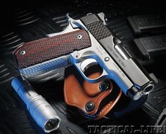 Kimber Super Carry Ultra.  This little baby feels like butter in your hands, sure would like to own one