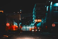 Colorful Night Neon Lights of South Africa  Photographer Elsa Bleda catches with poetry South African nights. In her pictures, she immortalizes the neon lights that enlighten dark streets. Light glows coming from shops, apartments, parkings or churches, transport us in a setting that could be a scenery of a movie.