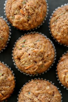 Morning Glory Muffins are a healthy, easy breakfast! Packed with veggies, you'll love having these on hand.