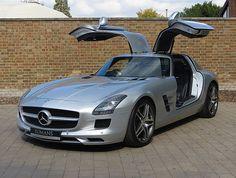 2010 (60) Used Mercedes SLS AMG   Iridium Silver