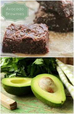 This Super-Moist Guilt-Free Avocado Brownies recipe is so quick and simple to make you can have a pan of these ready in no time. I'd switch the milk and water with coconut milk for a super healthy brownie. Healthy Baking, Healthy Desserts, Delicious Desserts, Yummy Food, Healthy Recipes, Köstliche Desserts, Dessert Recipes, Avocado Dessert, Avocado Recipes