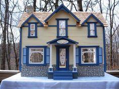 Duracraft Newport Cape House custom dollhouses in Frederick, Md
