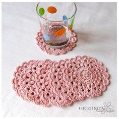 Vintage Crochet Coasters/Doilies