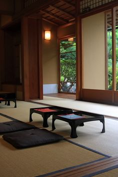 Tatami Japanese Style House, Traditional Japanese House, Japanese Modern, Japanese Interior, Japanese Design, Japanese Culture, Japanese Buildings, Japanese Architecture, Sakura House