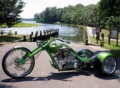 Custom Trikes, Custom Choppers, Custom Motorcycles, Cars And Motorcycles, Big Dog Motorcycle, Motorcycle Style, Paul Teutul Jr, Trike Chopper, Big Dogs