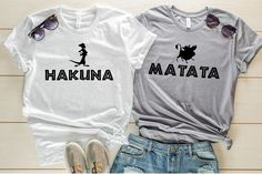 Excited to share this item from my shop: Hakuna Matata Timon and Pumba Shirt, Lion King Shirt, Couples Shirts, Best Friend Shirts, Family Disney Shirts Best Friend Matching Shirts, Best Friend T Shirts, Matching Disney Shirts, Best Friend Outfits, Disney Shirts For Family, Best Friend Clothes, Best Friend Stuff, Disney Family, Cute Disney Shirts