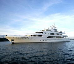 'Samar' by Devonport Yachts - 253 feet. Built in 2006