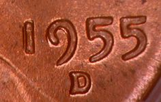 1955 D Doulbed Die Obverse 1