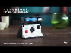 nanoblock toy digital camera 商品ムービー