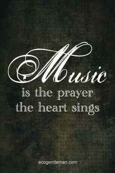 So true! Can't count the number of times singing in church and was moved to tears over the words to the song we were singing! Motivacional Quotes, Great Quotes, Inspirational Quotes, Best Music Quotes, Prayer Quotes, The Words, Sound Of Music, Music Is Life, House Music