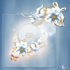 Moonbeam's Frosted Florals : Scrap and Tubes Store, Digital Scrapbooking Supplies