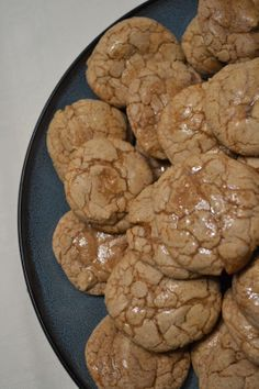 Apple Cider Cookies with Spiced Rum Glaze
