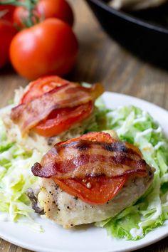 Roasted BLT Chicken Dinner Recipe, from COOKtheSTORY.com