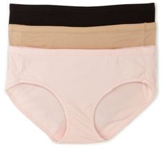 Hanes Women`s Classic 3-Pack Cotton Stretch Hipster $9.09