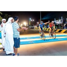 #CrownPrinceOfDubai H.H Sheikh Hamdan bin Mohammed bin Rashid Al Maktoum attended the 70-km Nad Al Sheba Cycling Championship as part of the NAS 2014 Ramadan Sports Tournament. Sheikh Hamdan followed the Nad Al Sheba Cycling Championship from beginning to end and was present at the finish line to greet the athletes. #nas14 ▃▃▃▃▃▃▃▃▃▃▃▃▃▃▃▃▃▃ emojiSource: emojiwww.HAMDAN.ae