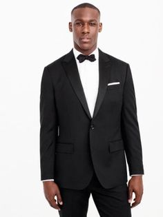 Shop the Ludlow Classic Tuxedo Jacket in Italian Wool at J.Crew and see the entire selection of Men's Suiting. Shop Men's clothing & accessories at J. Tuxedo Dress, Tuxedo Suit, Tuxedo Jacket, Suit Jacket, Black Tie Attire, Classic Tuxedo, Tuxedo Wedding, J Crew Men, Cashmere Sweaters