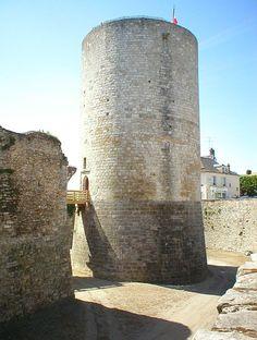 Château-fort de Dourdan (Ile de France) - Donjon