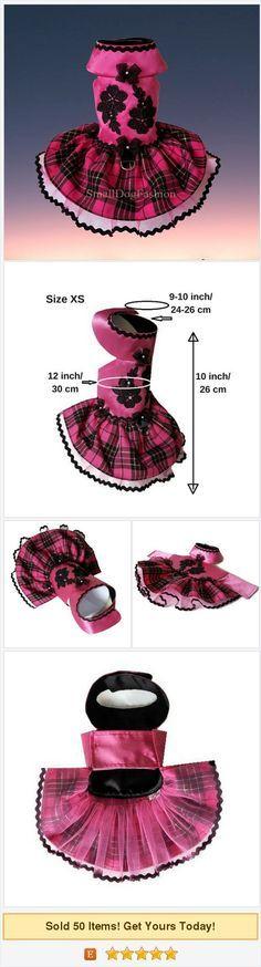 Small #dogclothes #Pet #dogdress Hot #pink #dog dress Girl dog clothes Fancy dog dress Puppy dog clothes Dog dress Cute dog clothes Size XS https://www.etsy.com/SmallDogFashion/listing/557062418/small-dog-clothes-pet-dog-dress-hot-pink?ref=shop_home_active_1