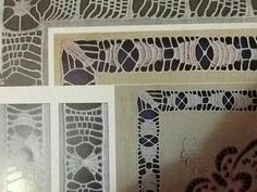 Neşe'nin gözdeleri Drawn Thread, Thread Work, Romanian Lace, Point Lace, Cut Work, Decoration, Diy And Crafts, Embroidery, Crochet