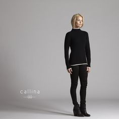 Audrey Cashmere Turtleneck-A classic turns modern. Experience the finest softest cashmere.