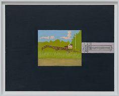 Leonard Rickhard <em>Sommerlandskap</em><br />Olje på tre, 66x81 cm