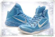New Nike Hyperdunk 2014 Light blue   Silver   White   Pale moon dacf3af420