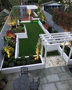 gardening ideas on a budget Whether it's a classical garden, modern garden desi Small Garden Landscape, Modern Landscape Design, Small Backyard Gardens, Small Backyard Landscaping, Modern Garden Design, Landscaping Ideas, Modern Design, Garden Design Plans, Home Garden Design
