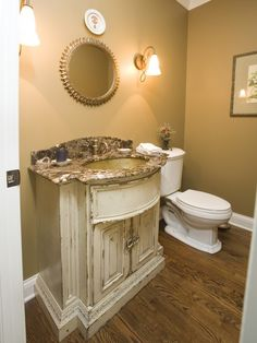 Mediterranean Bathroom Design, Pictures, Remodel, Decor and Ideas - page 11