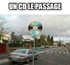 Un cd le passage... image drole humour
