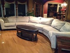 Ashley Furniture Sofa sectional for sale!! http://furnishamerica.com/darcy-stone-sectional.aspx