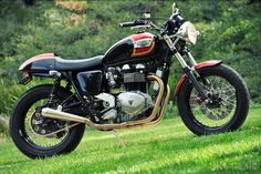 Triumph's new Bonneville is fast becoming a go-to choice for custom-bike builders who want to start with a reliable current machine, rather than scour junkyards for clanky old donors. The resurrected retrobike has been around long enough now: used examples are affordable, the simple air/oil-cooled… Read more »