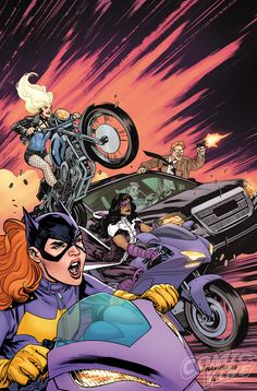 Batgirl and the Birds of Prey #2 cover by Yanick Paquette