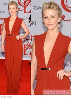 Pictures : 2012 CFDA Fashion Awards Outfits - Julianne Hough in Kaufman Franco Red Gown Moulin Rouge Outfits, Red Gowns, Its My Bday, Julianne Hough, Looking Stunning, 40th Birthday, I Love Fashion, Costume Design, Special Occasion Dresses