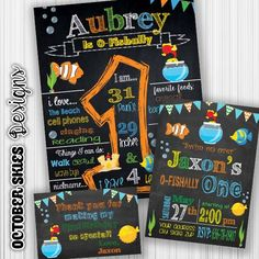 Ordering a custom birthday chalkboard is a great thing to have for your childs birthday or photo shoot! The ways of presenting your childs first birthday poster are endless: you could frame it, mount it on a foam board, or even print it on a canvas. This chalkboard is sized for 16 x 20  but can be resized for any size you want!  How to order:  Purchase listing and provide all of the following information in your order:  Your childs name & age: 4-8 things your child loves 2-3 favorite anim...