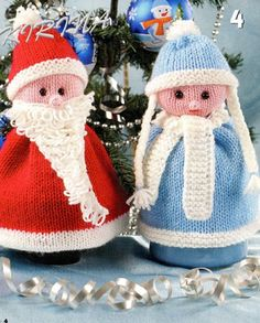 Santa Claus with his own hands  russian pattern