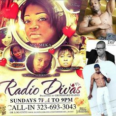 from @dj_saxy - RED LIGHT SUNDAY DON'T MISS THE HOTTEST THING ON RADIO! TUNE IN TO ##RadioDivas 7pm eastern / 6pm central Get close and personal with model, actor, and singer the @thinkdep LADIES...