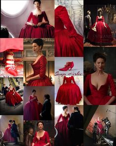 2 hands to hold, to serve, to love — sanjahirkic: The red dress… ♥️…. Claire Fraser, Jamie Fraser, Diana Gabaldon Bücher, Mejores Series Tv, Serie Outlander, Vogue, Look Thinner, Movie Costumes, Lingerie