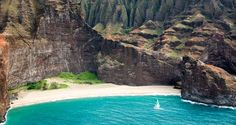 Honopu Beach, Kauai. Yes, beaches with cool arches are always better. Ask Jack Sparrow.